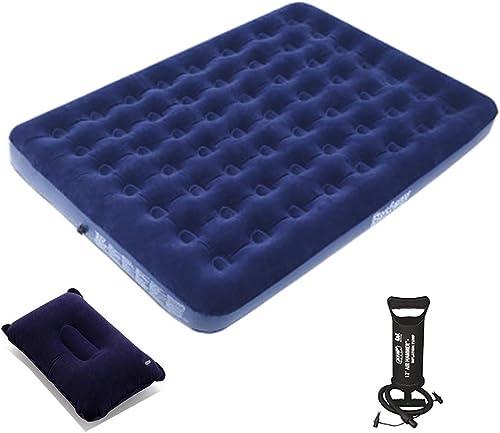 HEKQ Matelas gonflables Coussin Gonflable Coussin Gonflable en Tissu de Haute qualité Design Funky Moderne 24 Styles (Couleur   D, Taille   203  152  22cm)