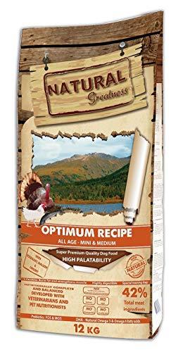 Natural Greatness Optimum Mini & Medium Breed Alimento Seco Completo para Perros...