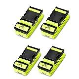 Heavy Duty Cruz Equipaje Maleta Correas Ajustables de la combinación de Accesorios de Viaje Cinturones Maleta Accessorios de Viaje 4-Pack