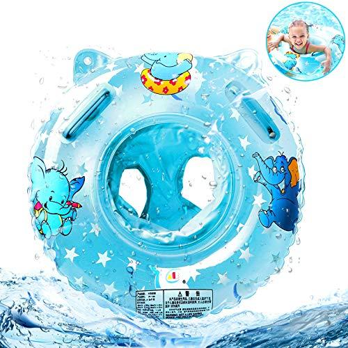 SANBLOGAN Baby Schwimmring, Baby Float Schwimmreifen Kinder Schwimmreifen Spielzeug Baby Schwimmring mit Schwimmsitz Float Kinder Schwimmring Kleinkinder ab 6 Monate Bis 3 Jahre