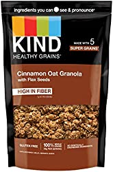KIND Healthy Grains Clusters, Cinnamon Oat Clusters with Flax Seeds, Gluten Free, Non GMO, 11 Ounce