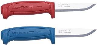 Bundle - 2 Items: Morakniv Craft Basic 511 Carbon Steel Knife, Morakniv Craft Basic 546 Stainless Steel Knife