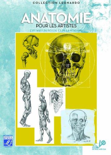 Lefranc Bourgeois Album Léonardo n°4 Anatomie pour artiste