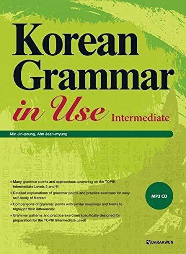Korean Grammar in Use - Intermediate: MP3 CD included