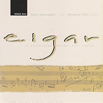 Elgar: Re-discovered works for violin