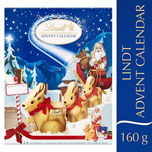 Lindt Adventskalender Milchschokolade (2er Pack)