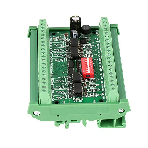 Level Translator, 5V/24V 8 Channel Voltage Level Translator Square Wave PNP NPN Signal Converter Module, Voltage Level Converter Board, 10MHZ
