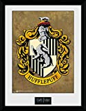 Harry Potter 1art1 Hufflepuff, Wappen Gerahmtes Bild Mit