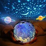 Star Night Light for Kids, Universe Night Light Projection...