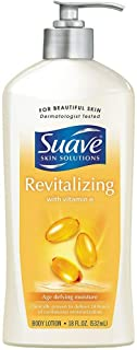 Suave Revitalizing with Vitamin E Body Lotion, 18 oz (Pack of 2)