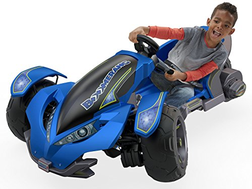 Power Wheels Boomerang, Blue