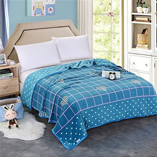 RONGXIE New Blue Cloud Decken Quilts Twin Full Queen King Fashion Decken Soft Throw Flanell Decke Auf Bett/Auto/Sofa Teppiche Decken Bettwäsche