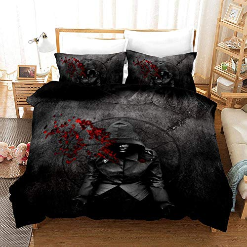299 Duvet Cover Sets 3D Supernatural Printing Child Adult Bedding Set 100% Polyester Duvet Cover 3 Pieces With 2 Pillowcases F-EU King240x220cm