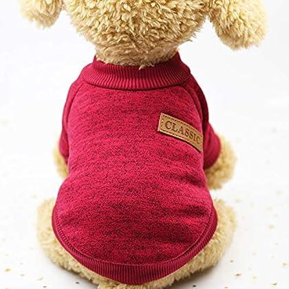 Stil: Hund Katze Katze klassischen Strickpullover Material: Vlies süßes Design, Mode und stilvoll. weich und bequem, halten Sie Ihr Haustier im Herbst / Winter warm. Leicht zu reinigen und viele Größen zur Auswahl. Nur zum Hände waschen.