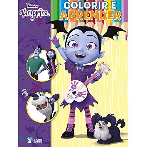 Colorir e Aprender Disney - Vampirina