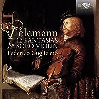 Telemann: 12 Fantasias for Vio