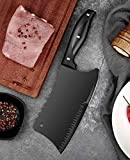 Meat cleaver, stainless steel bone cleaver,Chinese kitchen knife-kitchen meat cleaver-vegetable cleaver, multifunctional home kitchen