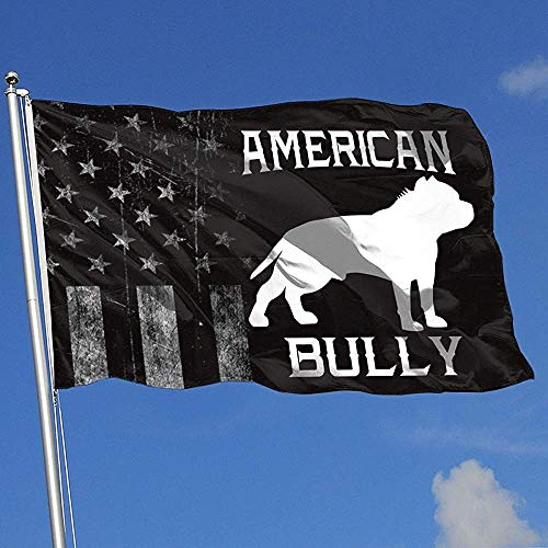 Elaine-Shop Outdoor Flags Abgenutzte USA Flagge American Bully 4 * 6 Ft Flagge für Wohnkultur Sport Fan Fußball Basketball Baseball Hockey
