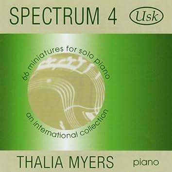 Spectrum 4: 66 Miniatures for Solo Piano