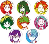 Anime-Brosche Pins,GHTY-NYGD Anime My Hero Academia Cosplay Badge Cartoon Boku No Hero Academia Brosche Pins Izuku Sammlung Taschen Button Abzeichen für Rucksäcke
