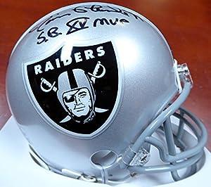 "Jim Plunkett Autographed Oakland Raiders Mini Helmet""sb Xv Mvp"" Beckett Bas Stock #113787"