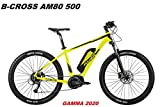 ATALA BICI ELETTRICA E-Bike B-Cross AM80 500 Gamma 2020 (18' - 46 CM)