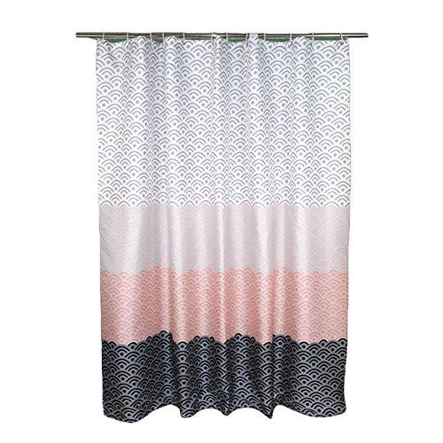 Duschvorhang Wasserdicht Anti-Schimmel Polyester Badewannevorhang Shower Curtain 6 240x200