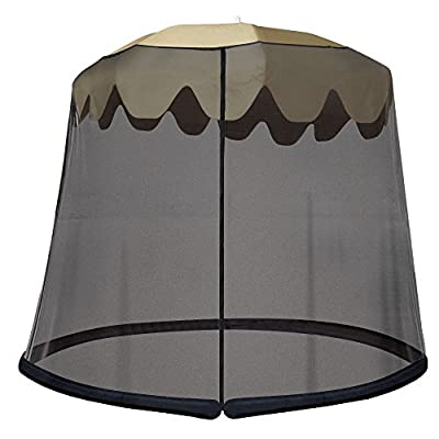IdeaWorks Outdoor Umbrella Table Screen