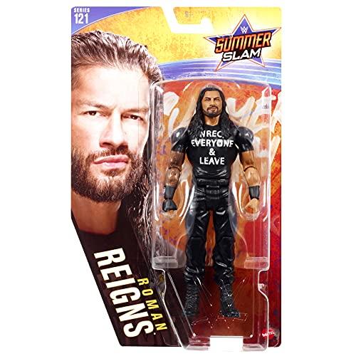 WWE Roman Reigns Basic Core Sumer SLAM Collection Series 121 Figura de acción de 6...
