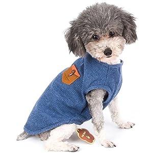 Zunea animal domestique, chemises pour petits chiens, chiots, chien T-shirt Gilet sans manches Top Apparel