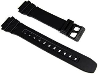 10365960 - Correa para reloj, resina, color negro