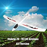Toys Hobbies Flybear FX707 Hand Throwing RC Airplane EPP 1200mm Wingspan Aircraft Fixed Wing Plane KIT for DIY