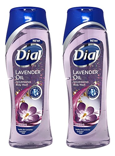 Dial Lavender Oil Nourishing Body Wash, 16 oz (Pack of 2)