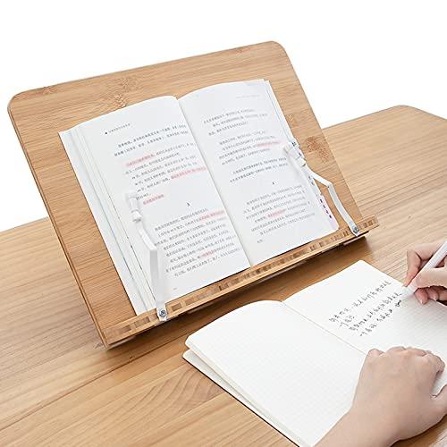 Atril Para Libros, Soporte De Libros, Soporte De Libro De Recetas De 6 + 1 Engranajes, Soporte De Lectura Para Niños Para Libro De Cocina, Libro De Texto, Tablet Pc, Libro De Músic(Size:Medio,Color:A)