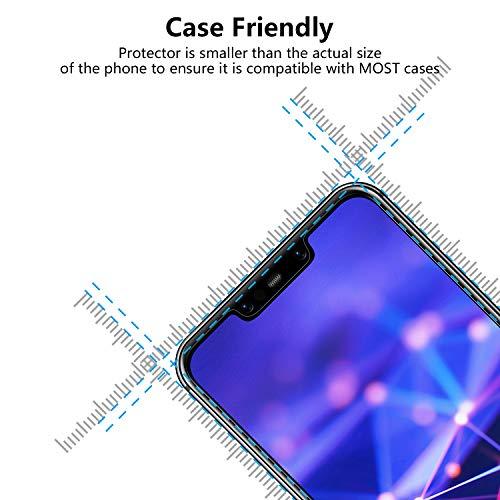 Bigmeda Schutzfolie für Huawei Mate 20 Lite,Blasenfrei, Anti-Kratzen, Anti-Öl, HD Klar Flexible Displayschutzfolie für Huawei Mate 20 Lite Folie [3 Stück] - 3
