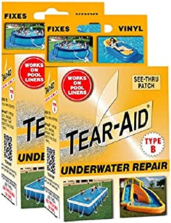 Tear-Aid Repair Type B Vinyl Underwater Kit