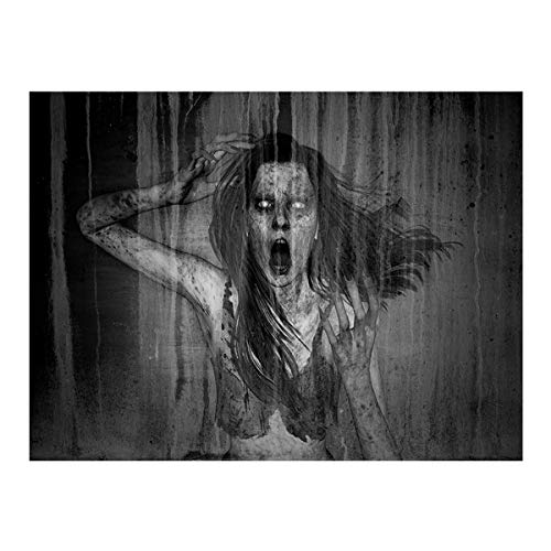 Halloween Wall Hanging Tapestry Funny Art Home Decoration, Home Decor HotSales (Black)