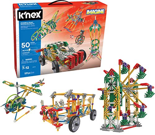 K'NEX Imagine – Power and Play Motorized Building Set – 529 Pieces – Ages 7 and Up – Construction Educational Toy JungleDealsBlog.com