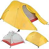 Paria Outdoor Products Tienda de campaña Bryce Ultraligera e Impermeable mochileros, Senderismo, Kayaks, Camping, y Bicicletas (1 Persona)