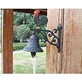 Campana de jardín Colgante de pared americano timbre colgante estilo...