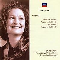 Mozart: Exsultate Jubilate K165 / Regina Coeli by KIRKBY / ACADEMY OF ANCIENT MUSIC / HOGWOOD (2005-07-11)