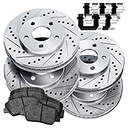 Power Sport Ceramic Brake Pad & Rotor Kit
