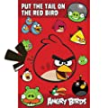 Angry Birds Pin the Feathers Party Game - Birthday and Theme Party Supplies