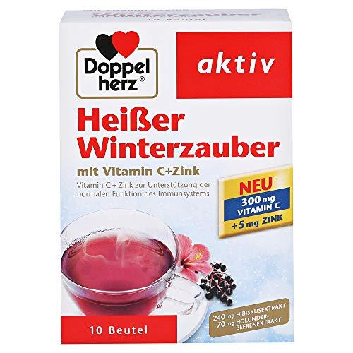 Doppelherz Heisser Winterzauber mit Vitamin C + Zink 10 Beutel