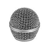 Muslady Testina per microfono ricambio Griglia Compatibile con i microfoni Shure SM58 / SM58S / SM58LC / BETA 58a / BETA 58A / SA-M30 / SV100 / UT2 / PGX24 / SLX4