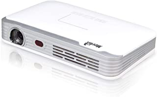 Merlin 3D Pocketbeam Pro Projector, Home Cinema with 2000 lumens Video projector, HD Android, Quad-Core, 7800mAh Battery, ...