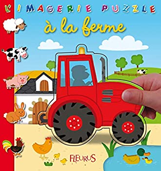 Paperback à la ferme (IMAGERIE PUZZLE) (French Edition) [French] Book