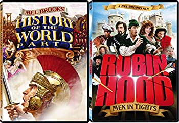 Mel Brooks Comedy Double Feature - History of the World Part 1 & Robin Hood  Men in Tights 2-DVD Bundle