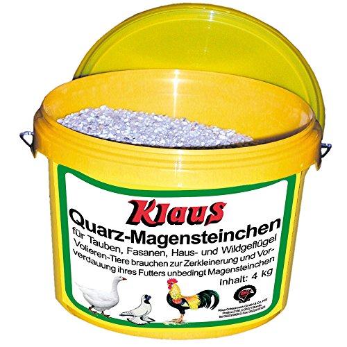 KLAUS - Magensteinchen - in schnabelgerechten Quarzsteinchen für eine bessere Futterverwertung