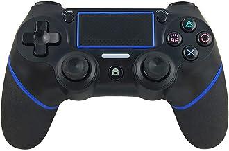 YIQIN Controlador Ps4ps3, Controlador inalámbrico para el Controlador de Juego de PC, Joystick del teléfono móvil Bluetooth, Controlador Bluetooth del Juego multifunción